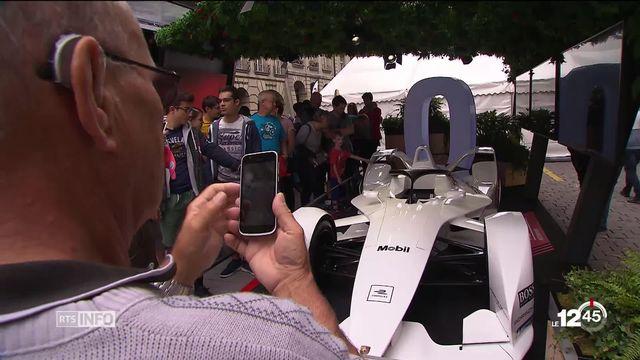 Formule E: la course qui électrise Berne [RTS]
