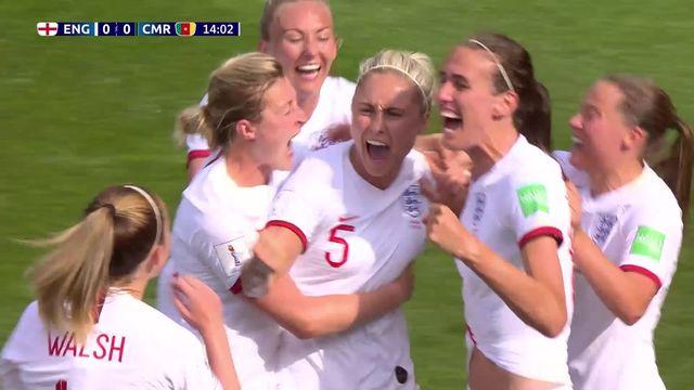 1-8e, Angleterre - Cameroun 3-0: les Anglaises s'imposent aisément et accède à la suite du tournoi [RTS]