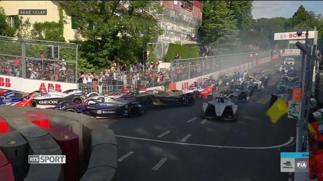 Formule E, Championnats du Monde à Berne: Sebastien Buemi sur le podium [RTS]
