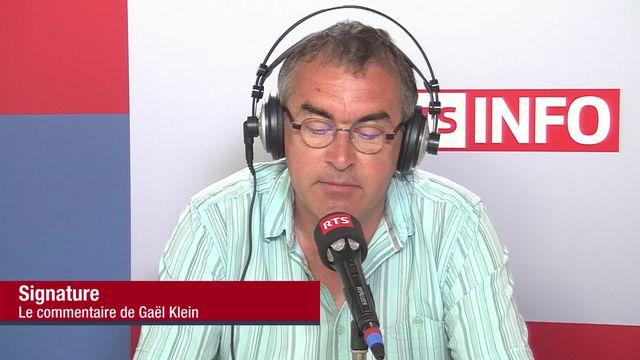 Signature de Gaël Klein (vidéo) - Crise de la quarantaine [RTS]