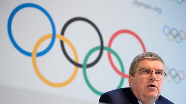 Le président du Comité international olympique Thomas Bach. [Fabrice Coffrini - AFP]