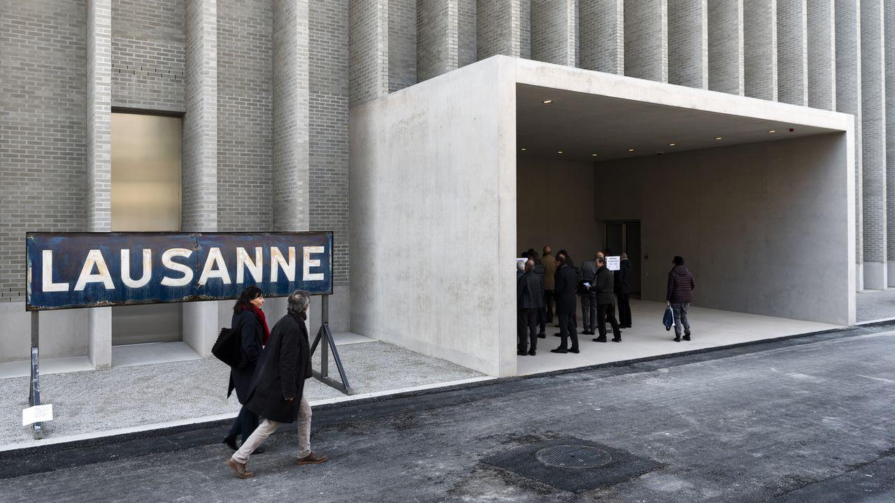 L'intégration du Musée cantonal des Beaux-Arts sur le site de Plateforme 10 est un enjeu majeur pour la politique culturelle vaudoise. [Jean-Christophe Bott - Keystone]