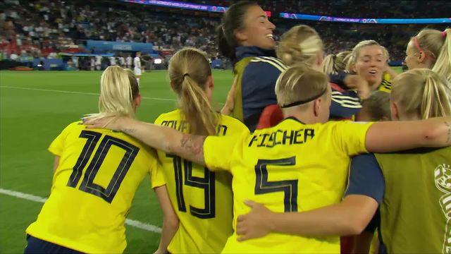 1-8e, Suède – Canada (1-0): la Suède fait le minimum et sort le Canada [RTS]