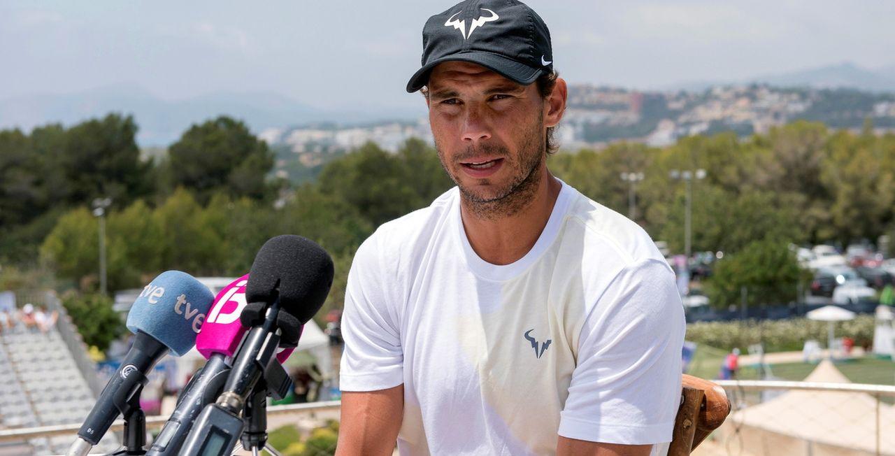 Le Majorquin visera un 3e sacre à Wimbledon. [Atienza - Keystone]