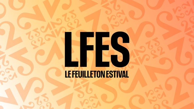 Logo rectangle Le feuilleton estival. RTS [RTS]