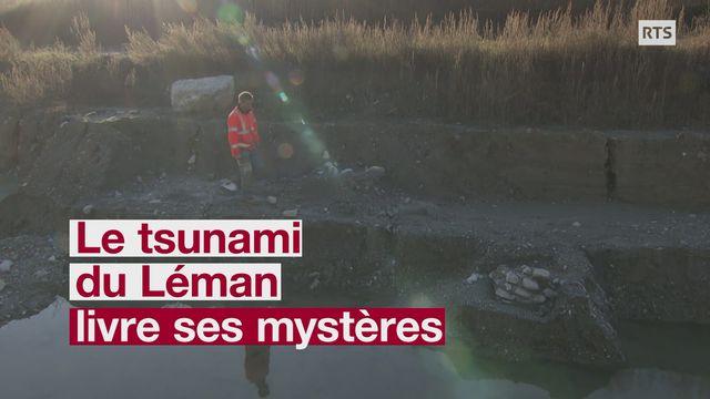 Un vestige archéologique corrobore la date du tsunami sur le Léman, en 563 [RTS]