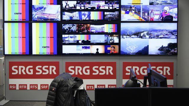La SSR a assuré la production des courses de ski alpin à PyeongChang. [Gian Ehrenzeller - Keystone]