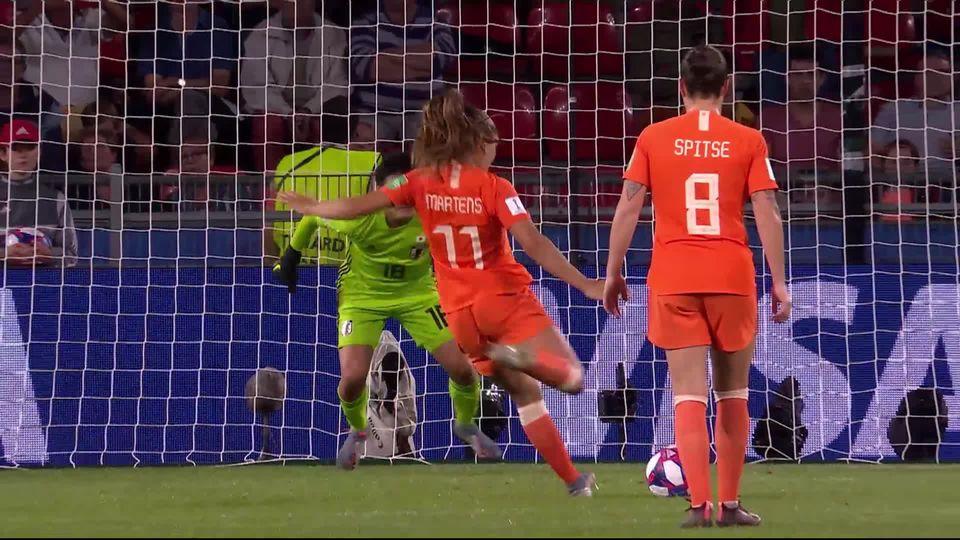 1-8e, Pays-Bas – Japon (1-1): Lieke Martens envoie les Pays-Bas en 1-4 [RTS]