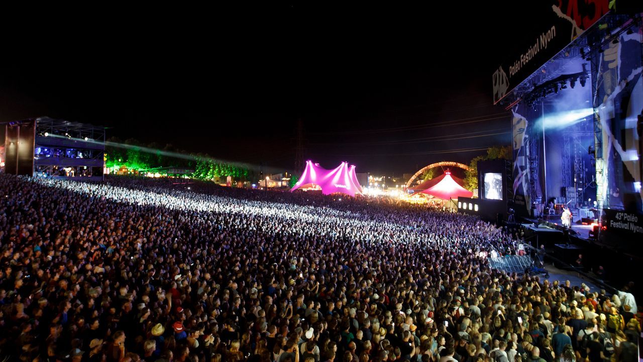 Paléo Festival 2018. [Salvatore Di Nolfi - Keystone]