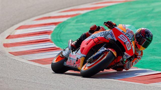 Lorenzo sur sa Honda lors du Grand Prix de Catalogne le 15 juin dernier. [ALEJANDRO GARCIA - EPA]