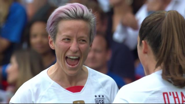 1-4, France - USA (1-2): les meilleurs instants de la rencontre [RTS]