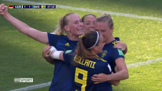 Coupe du Monde de football féminine: Allemagne – Suède (1-2) [RTS]