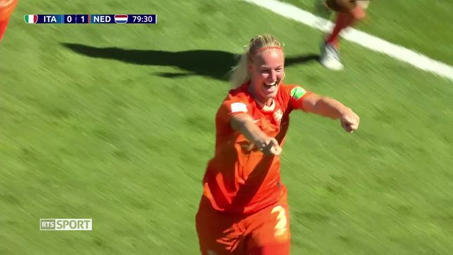 Coupe du Monde de football féminine: Italie – Pays-Bas (0-2) [RTS]