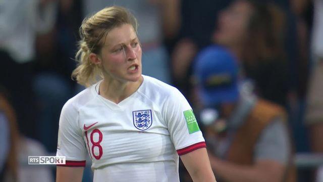 Coupe du Monde de football féminine: retour sur la sélection de l'Angleterre et des États-Unis en 1-2 [RTS]
