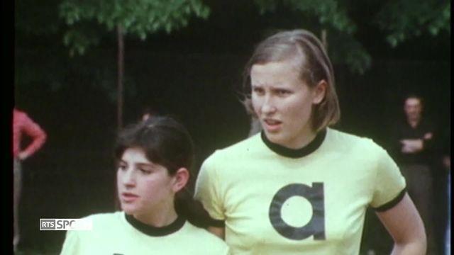 Football: Madeleine Boll pionnière du football féminin [RTS]