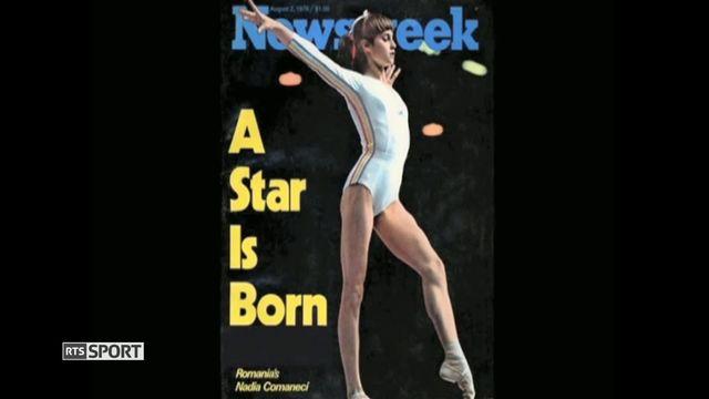 Gymnastique: Nadia Comaneci quintuple championne olympique [RTS]