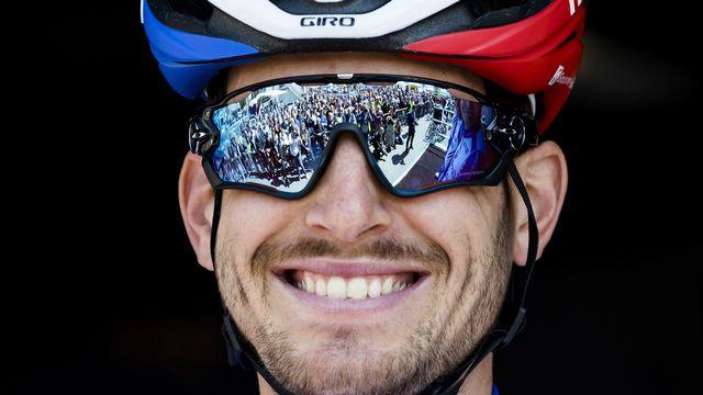 Sébastien Reichenbach pédalera pour l'équipe de la FDJ dans une semaine au Tour de France. [Jean-Christophe Bott - Keystone]