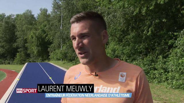 Athlétisme: Laurent Meuwly au service des Pays-Bas [RTS]