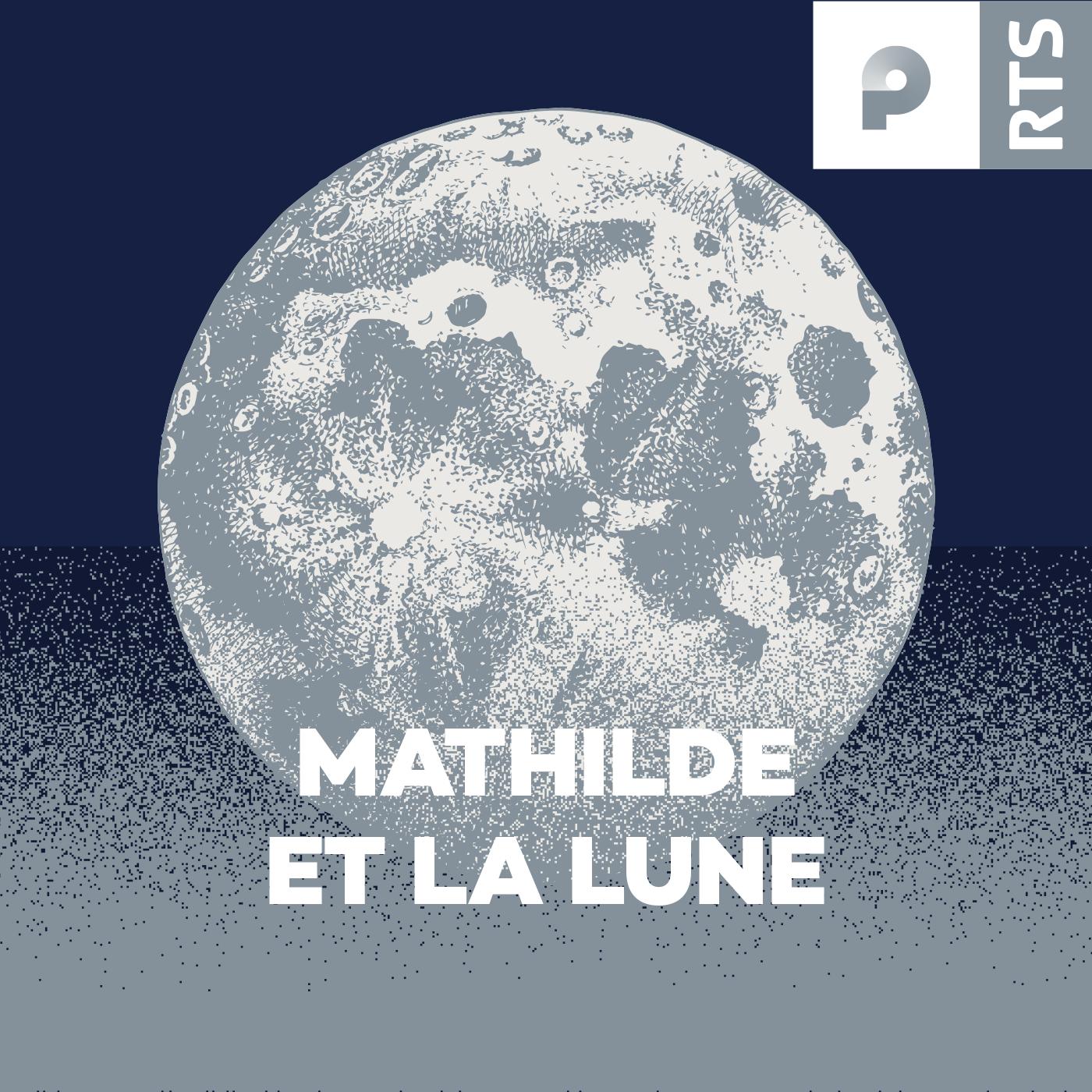 Logo Mathilde et la Lune, 1400x1400 px. [RTS]