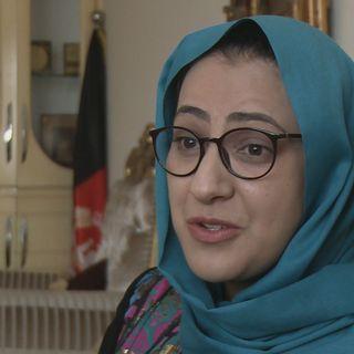 Nahid Farid, députée de la province d'Herat. [DR - RTS]