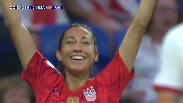 1-2, Angleterre - Etats-Unis (1-2): les meilleurs moments de la victoire américaine [RTS]