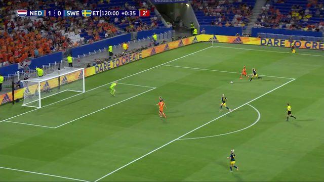 1-2, Pays-Bas - Suède (ap 1-0): les meilleurs moments de la victoire néerlandaise [RTS]
