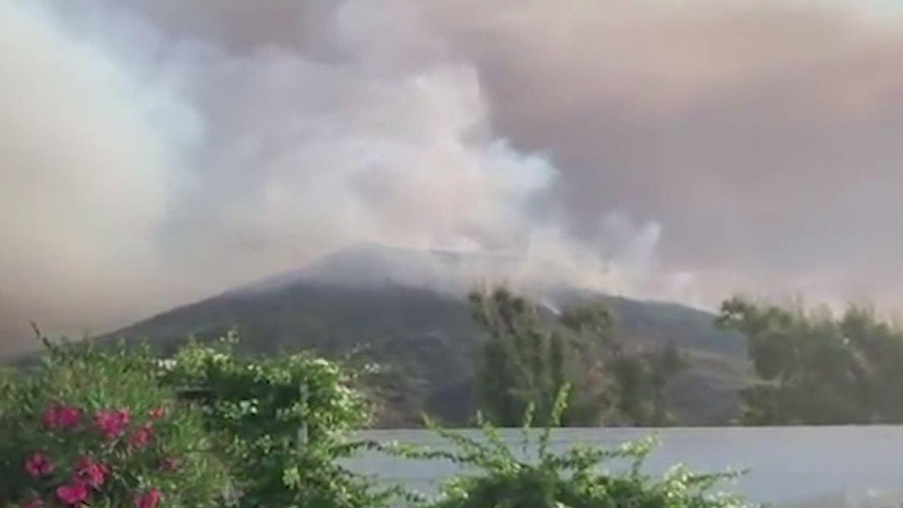 Eruption du Stromboli [RTS]