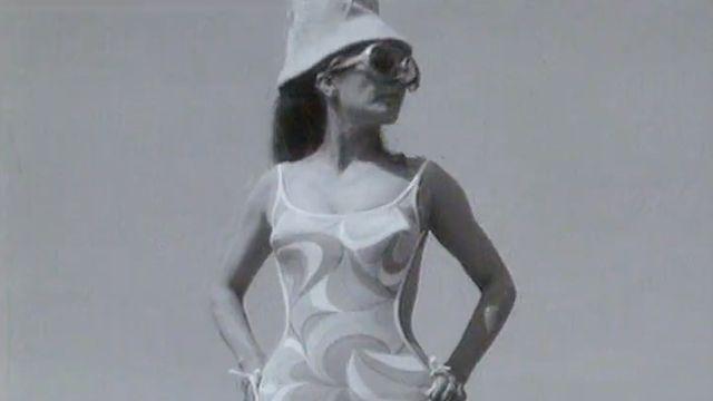 Défilé de maillots de bains de l'été 1968. [RTS]