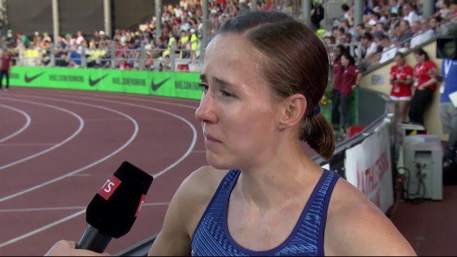 Lausanne (SUI), 800m dames: interview d'après course avec Selina Buechel (SUI) [RTS]