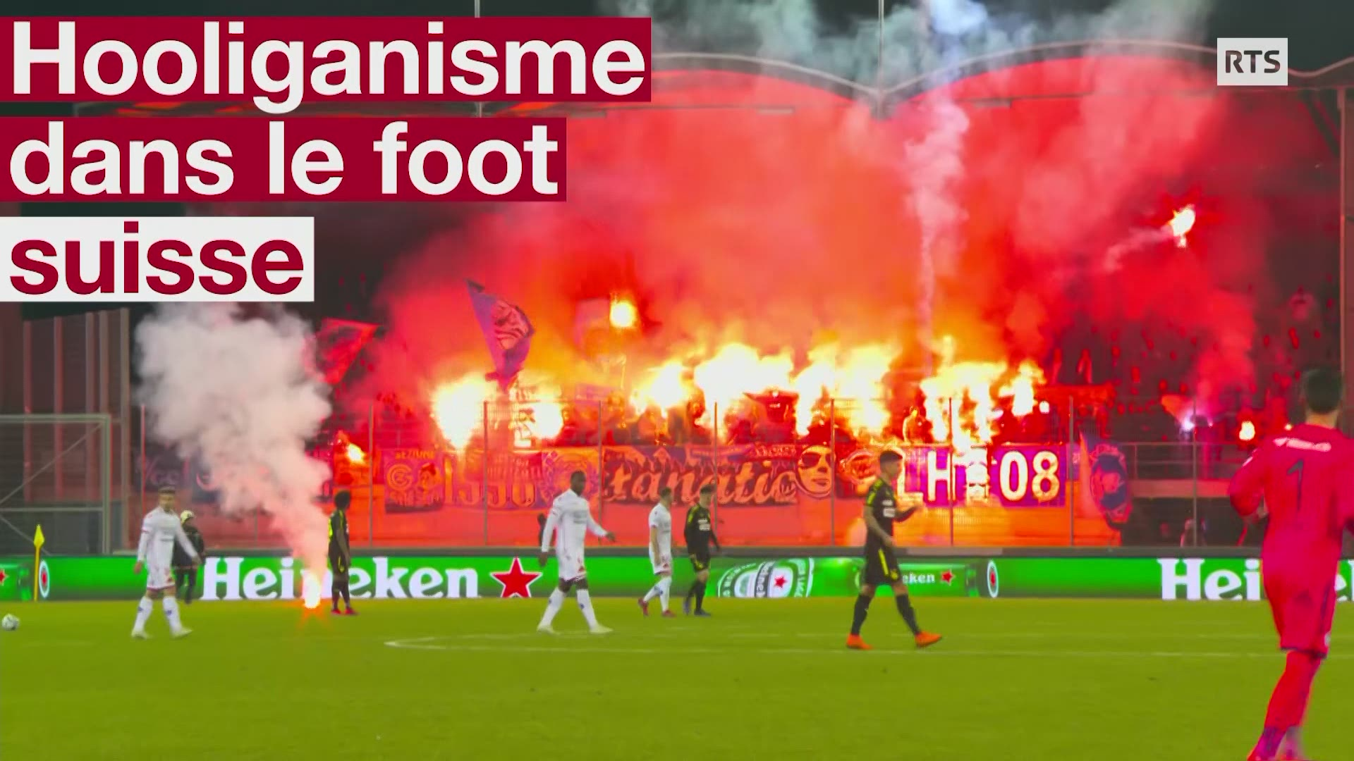 Hooligans dans le football suisse