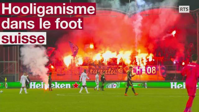 Hooligans dans le football suisse [RTS]