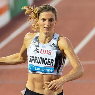 Lea Sprunger est sur la bonne voie. [Pascal Muller - Freshfocus]