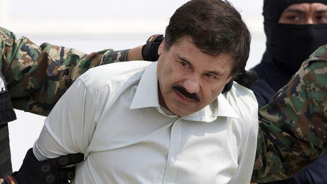 El Chapo, peu après son arrestation en février 2014. [Eduardo Verdugo - AP Photo]