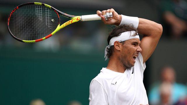 Rafael Nadal ne s'est pas éternisé contre Tsonga. [Will Oliver - Keystone]