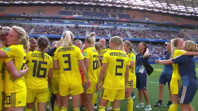 Petite finale, Angleterre – Suède (1-2): les Suédoises sur le podium [RTS]