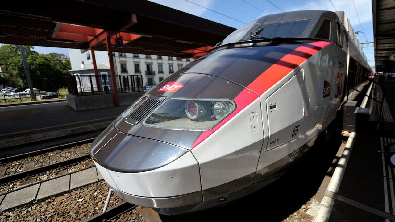 Un TGV de la SNCF. [Martial Trezzini - Keystone ]