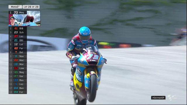 GP d'Allemagne (#9), Moto2: Marquez (ESP) s'impose, Lüthi (SUI) 5e [RTS]