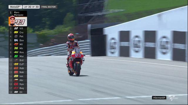 GP d'Allemagne (#9), MotoGP: victoire aisée de Marc Marquez (ESP) [RTS]