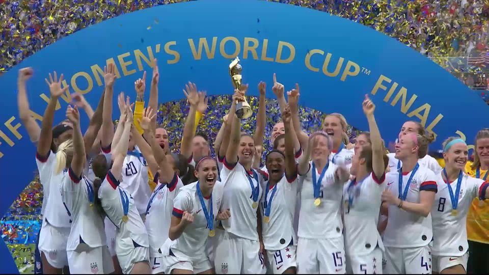 Finale, USA - Pays-Bas (2-0): les meilleurs moments du sacre américain [RTS]