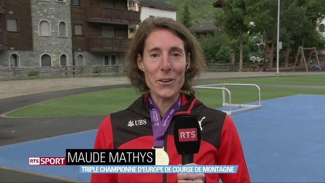 Course: Championnat d'Europe de course de montage, Maude Mathys s'impose [RTS]