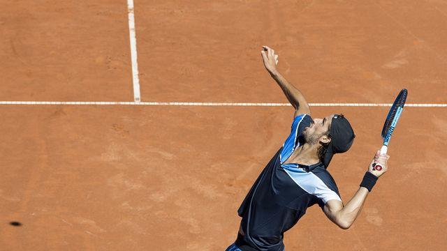 ATP Gstaad 1/16e de finale [Peter Schneider - Keystone]