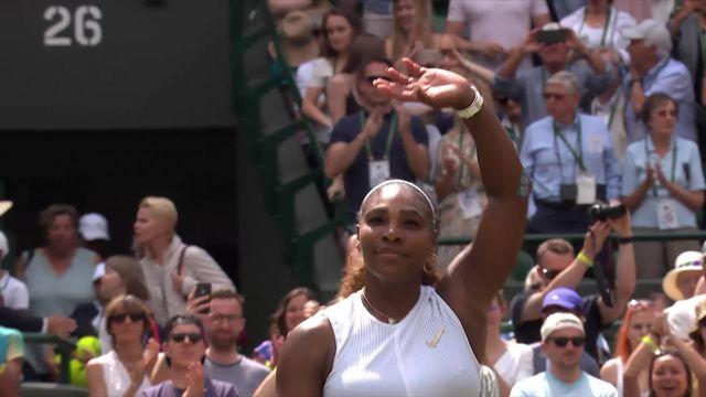 1-8e, S. Williams (USA) – C. Suarez Navarro (ESP) (6-2, 6-2): Serena déroule et passe en 1-4 [RTS]