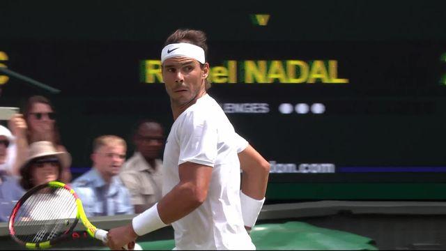 Le point du jour: Nadal est partout face à Souza [RTS]