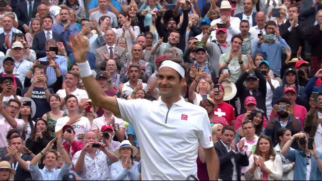 1-8e, M. Berrettini (ITA) – R. Federer (SUI) (1-6, 2-6, 2-6): Roger déroule et se qualifie pour les 1-4 [RTS]
