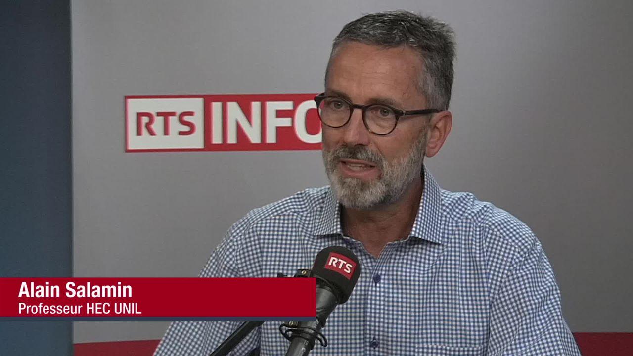 L'invité de La Matinale (vidéo) - Alain Salamin, professeur à HEC Lausanne et expert en ressources humaines [RTS]