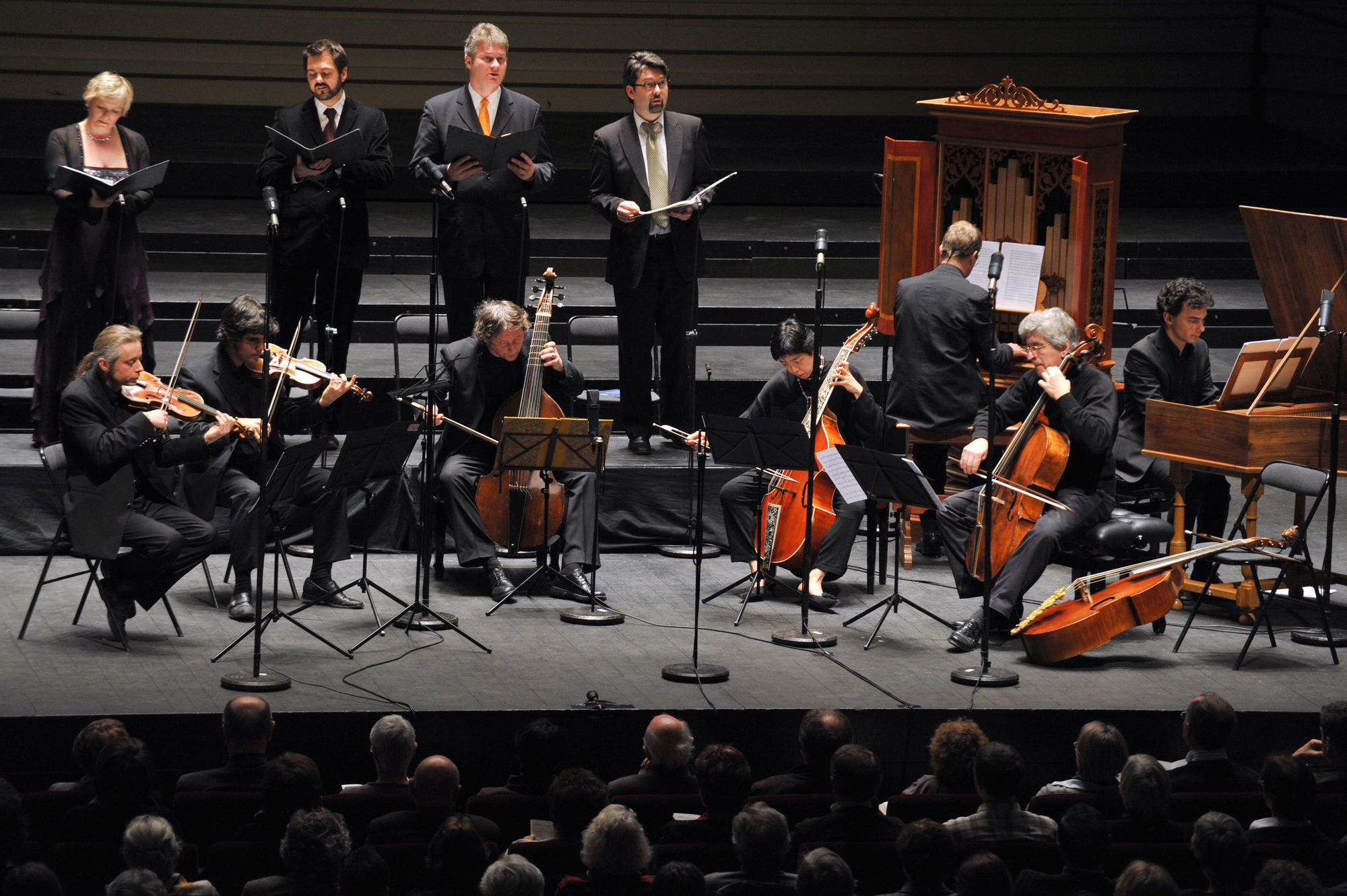 Le Ricercar Consort.