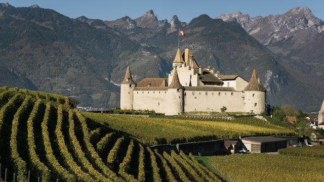 La boucle romande passera par Aigle et son château. [Christian Beutler - Keystone]