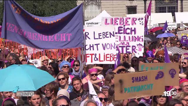 Grève des femmes: les syndicats multiplient les revendications après la mobilisation historique [RTS]