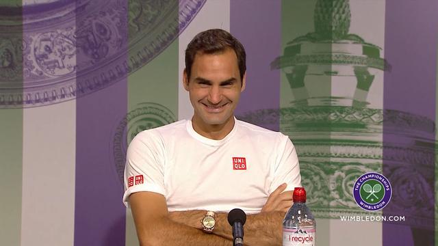 Federer chambre un journaliste italien
