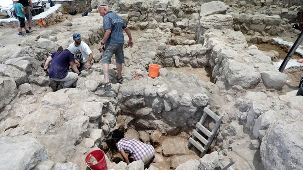 Les archéologues trouvent la ville de refuge du roi David, Ziklag. [Abir Sultan - EPA/Keystone]